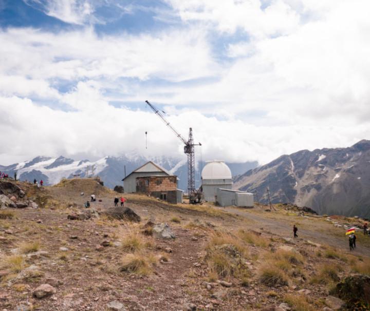 Обсерватория, пик Терскол